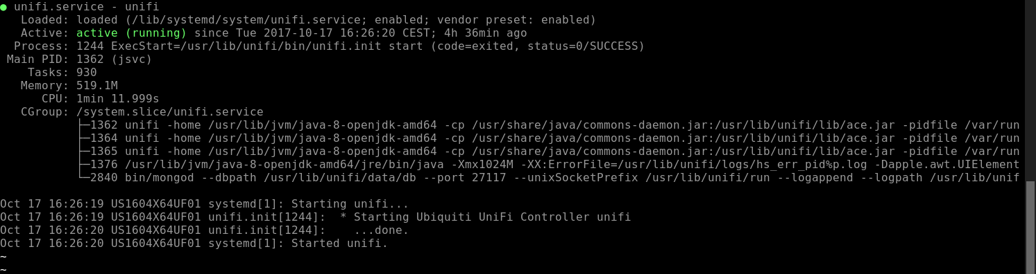 Install the UniFi controller on Ubuntu 16 04 – Interested in